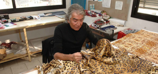 Roberto-Cavalli-at-work