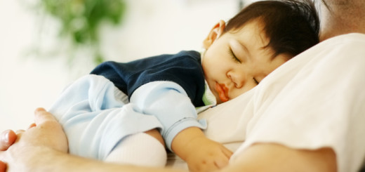 father-and-baby-sleeping