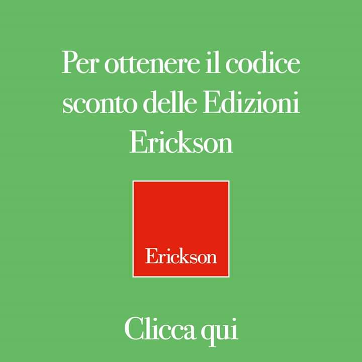 SCONTO 15% EDIZIONI ERICKSON